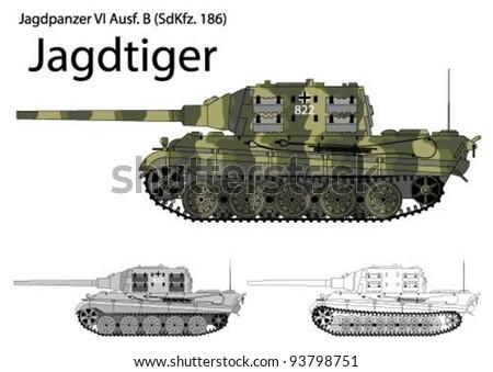 german ww2 jagdtiger tank