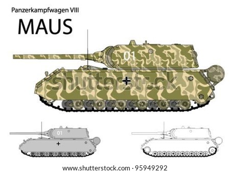 german ww2 maus super heavy