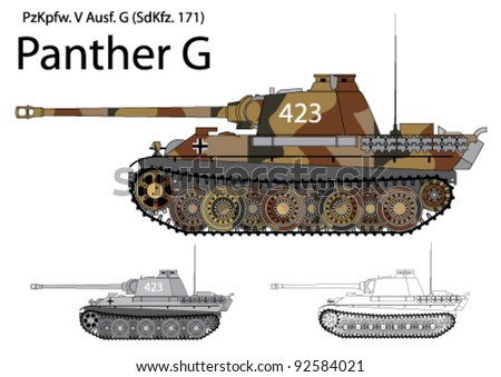 german ww2 panther g