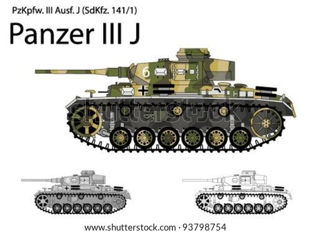 german ww2 panzer iii j tank