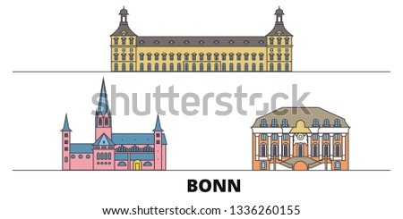 germany  bonn flat landmarks