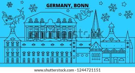 germany  bonn winter holidays