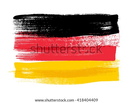 germany colorful brush strokes