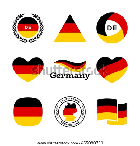 Germany Flag, Heart With German Flag