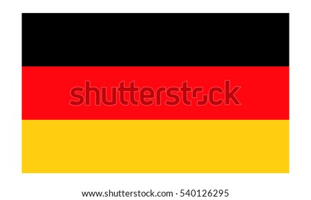 Germany flag vector eps10.  German flag. Germany flag icon Foto d'archivio ©
