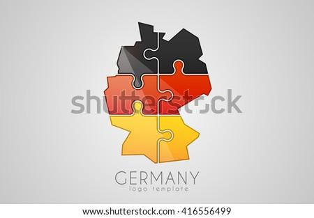 germany logo puzzle germany