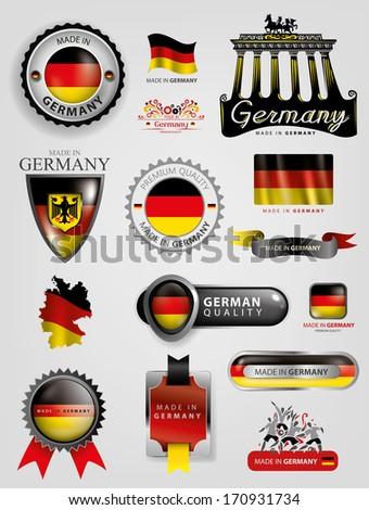 germany seals  german flag