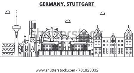 germany  stuttgart architecture