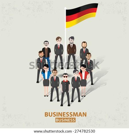 germany teamwork businessman