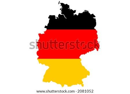 Germany - vector illustration