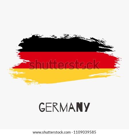 germany vector watercolor