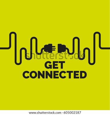 Get connected UK plug socket.