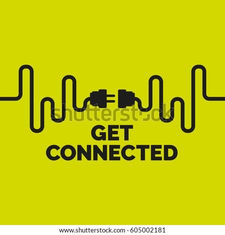 Get connected US plug socket.
