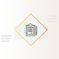 Get Detailed Reporting icon isolated background