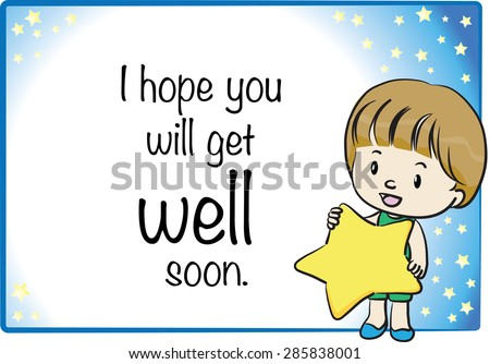 Get Well Soon Card Download Free Vector Art Stock Graphics Images