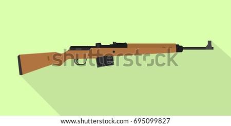 gewehr 43 german rifle gun
