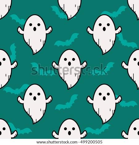 ghost blue pattern ghost