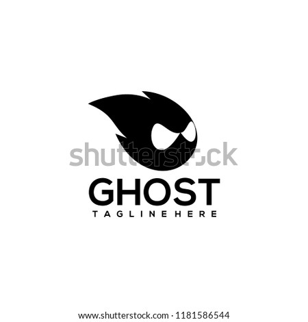 ghost logo design