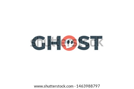 ghost logo is formed by