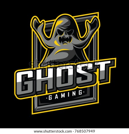 ghost mascot  icon  and game