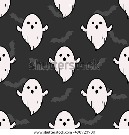 ghost pattern ghost background