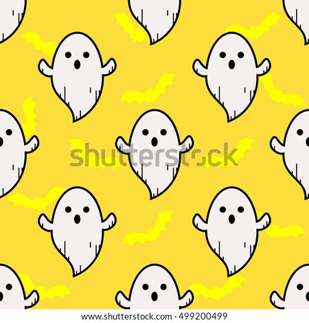 ghost yellow pattern ghost