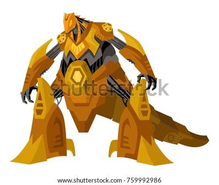 giant dinosaur robot