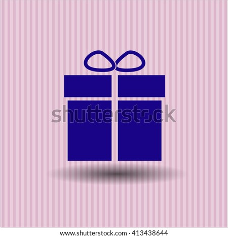 Gift box high quality icon