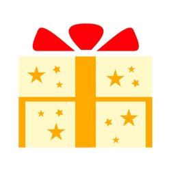 Gift box icon - Present button
