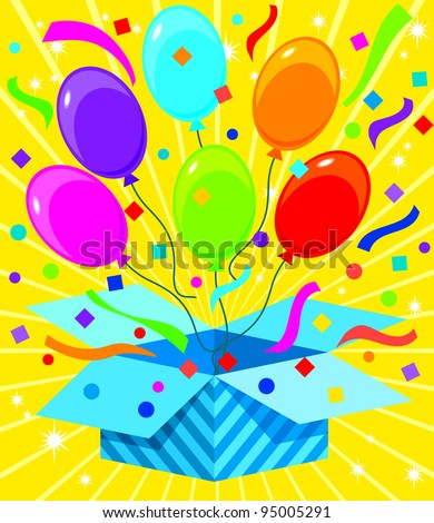 Gift box Series - Pop Balloons