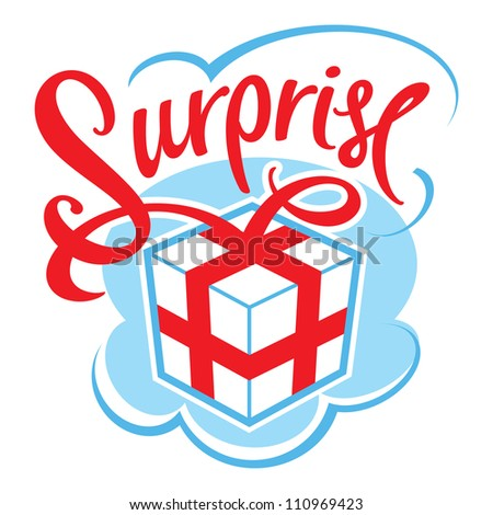 Gift box surprise for birthday, celebration, event, christmas, wedding
