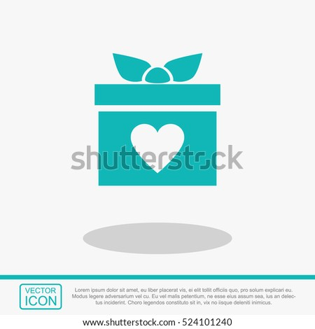 gift box vector icon present