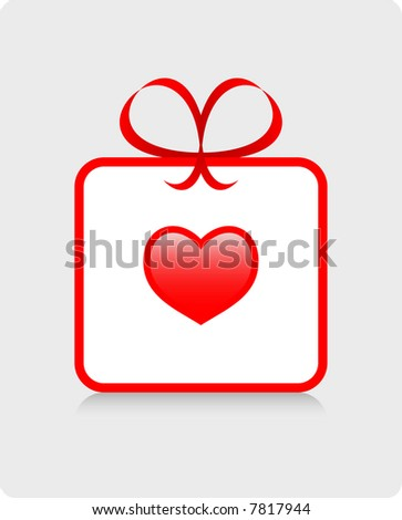 love heart borders. stock vector : Gift of Love