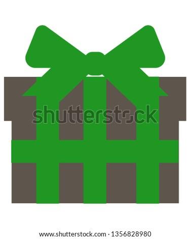 Gift presents icon
