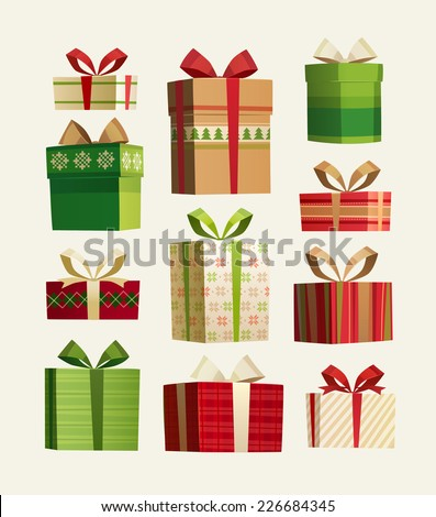 gift set christmas card