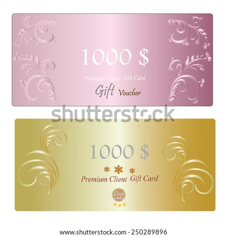 Royalty free gift certificate voucher coupon 145301650 stock gift voucher gift certificate coupon template gift voucher vector 250289896 yelopaper Image collections