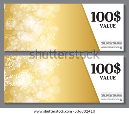Discount card download free vector art stock graphics images gift voucher template for christmas and new year discount coupon vector illustration eps10 yadclub Images