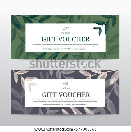 Spa template vector download free vector art stock graphics images gift voucher template for spa hotel resort vector illustration yelopaper Image collections