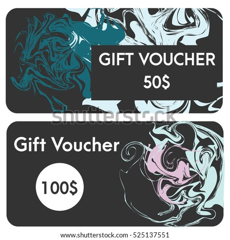 gift vouchers design templates