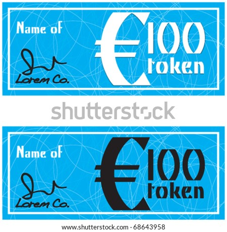 stock vector : gift vouchers, new year gifts, Valentine's Day gift voucher