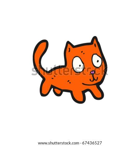 ginger cat cartoon