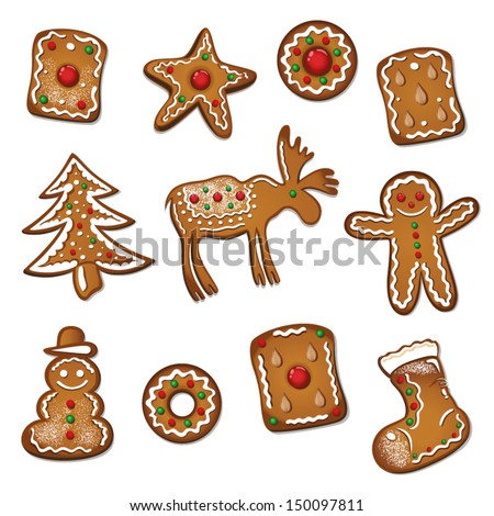 gingerbread and biscuits for
