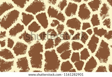 giraffe texture pattern brown white