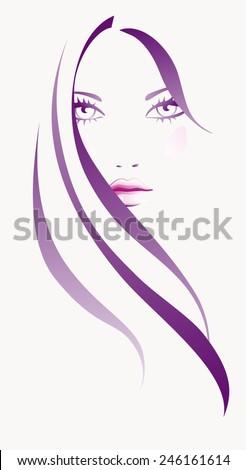 girl abstract