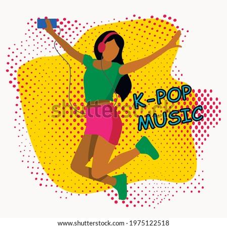 girl listen love korean k pop