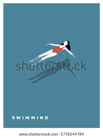 girl lying on a float in the