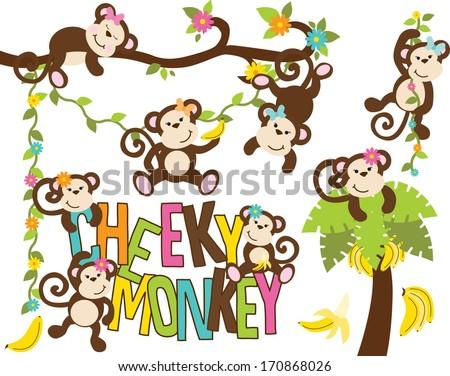 Girl Monkeys / Cheeky Monkey