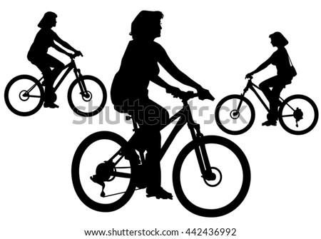 Free Woman Walking Cycle Vector Download Free Vector Art Stock