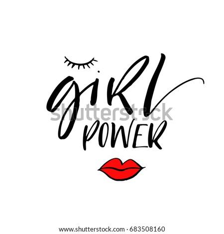 girl power phrase motivational