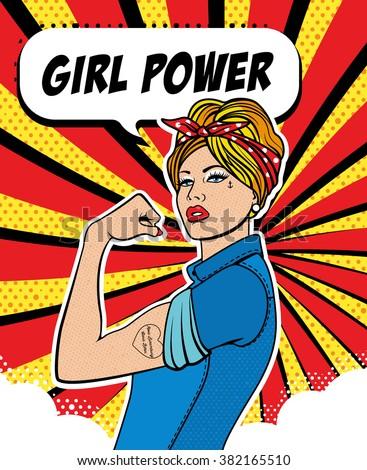 girl power  the factory girl